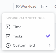 Show Items by Time, Tasks or Custom Fields